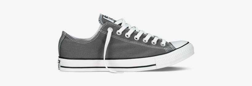 Venta ambulante Juntar negocio  Chuck Taylor All Star Classic Colors Charcoal - Converse Men Grey Shoes -  450x450 PNG Download - PNGkit