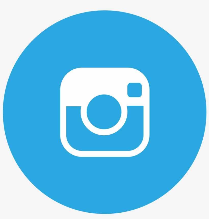 Donate - Instagram Logo Round Blue - 1250x1250 PNG Download - PNGkit