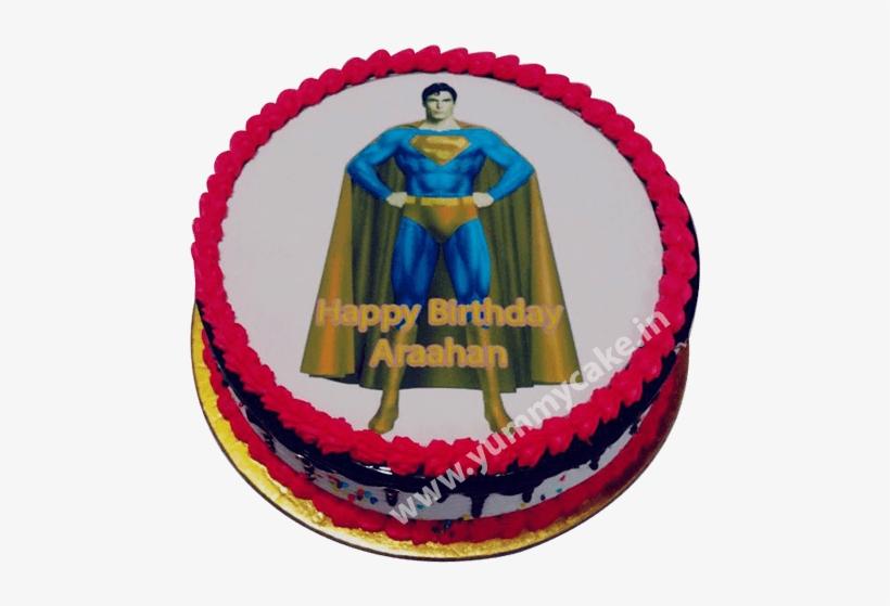 Astonishing Superman Birthday Cake New Year Cakes 2018 500X500 Png Funny Birthday Cards Online Necthendildamsfinfo