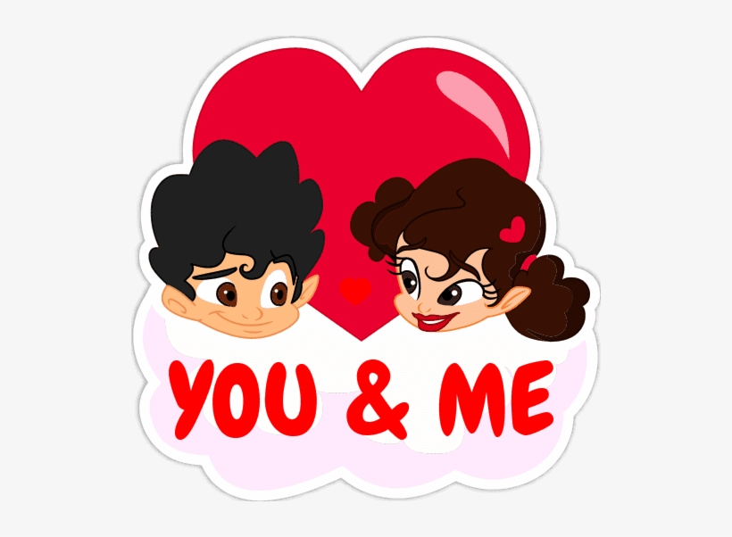 Youandme Png Whatsapp Status Stickers 526x522 Png