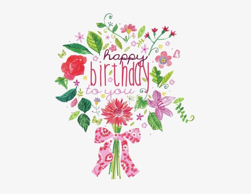 Pleasant Birthday Cake Flower Bouquet Clip Art Cute Happy Birthday Funny Birthday Cards Online Aeocydamsfinfo