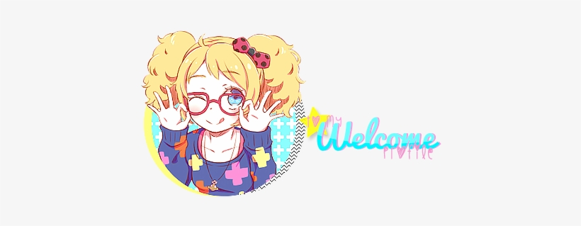 Welcome To My Page Welcome To My Profile Anime 500x300 Png Download Pngkit