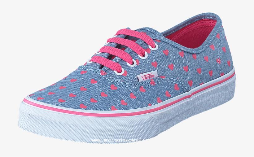 54a354b0b43859 Vans Uy Authentic Blue true White 58611-00 Womens Textile - Shoe ...