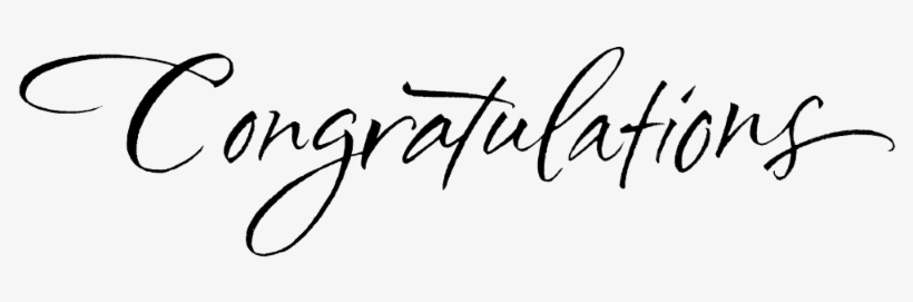 We Take This Opportunity To Congratulate You Both On Congratulations Clipart 800x198 Png Download Pngkit