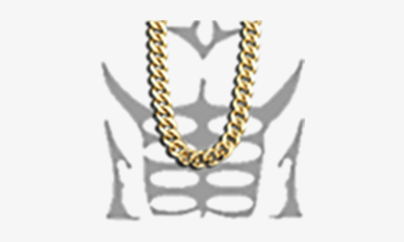 Gold Chain Roblox T Shirt Gold Chain Roblox T Shirt Muscle 420x420 Png Download Pngkit