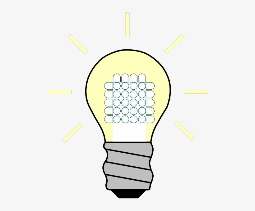 Lightbulb Led Light Bulb Clipart Clipartfest Poster Hemat Energi
