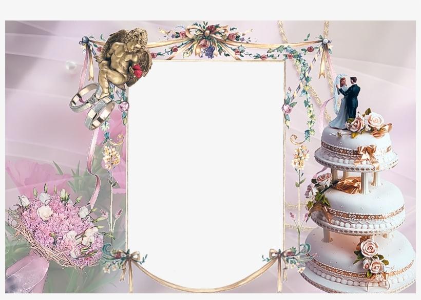 Free Photoshop Wedding Frames Download Bingkai Foto Pernikahan 1600x1067 Png Download Pngkit