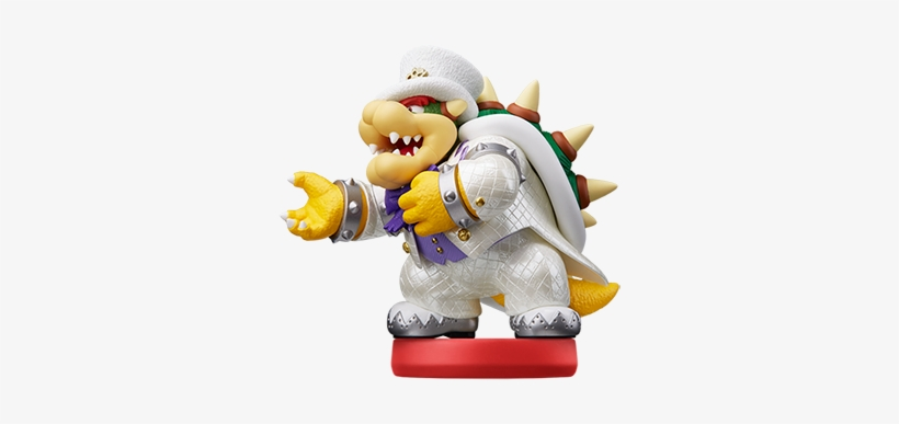 Bowser Super Mario Odyssey Bowser Amiibo 380x408 Png Download