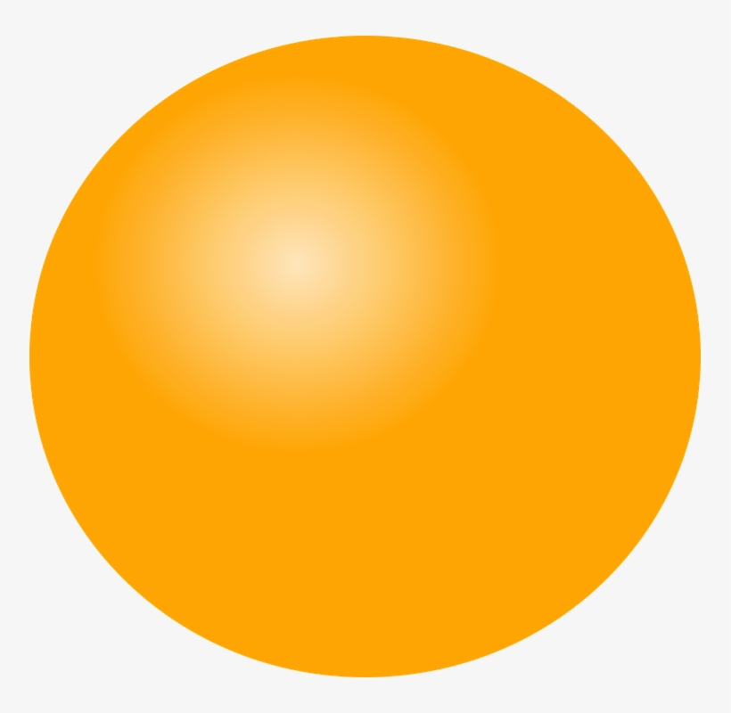 Bright Clipart Light Ball Yellow Traffic Light Icon