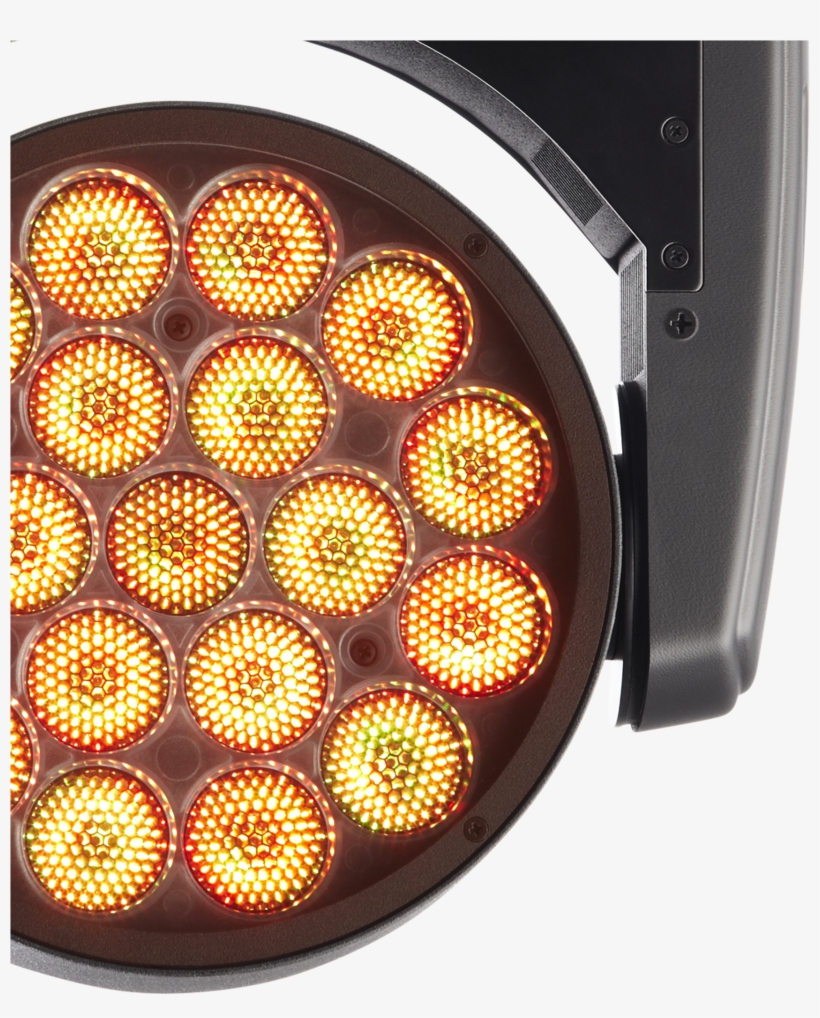 3 Led Rings Control, Rainbow Effects, Tungsten Lamp - Light