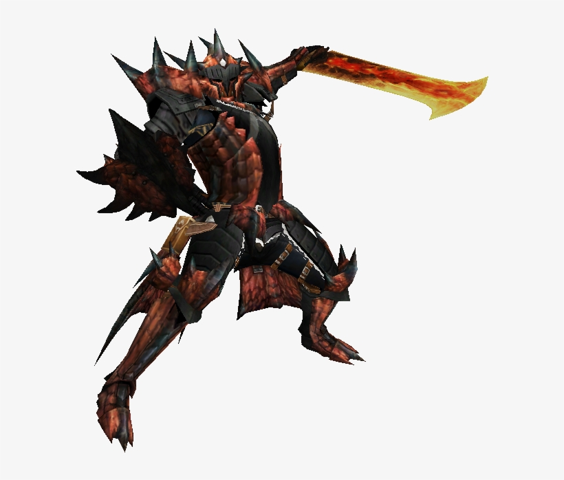 Rathalos Hunter Monster Hunter Red Armor 607x629 Png Download
