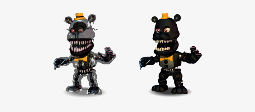 Adventure Nightmare Withered Freddy - 554x322 PNG Download - PNGkit