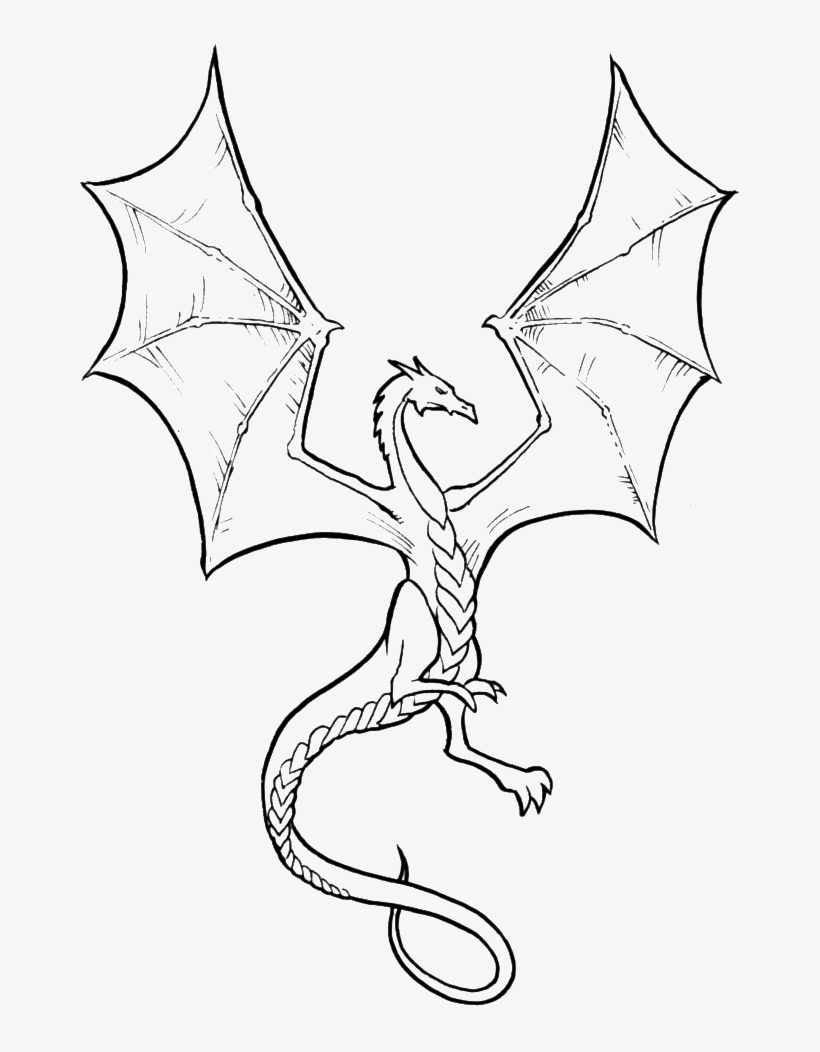 - Related Clip Arts - Dragon Flying Coloring Pages - 700x987 PNG