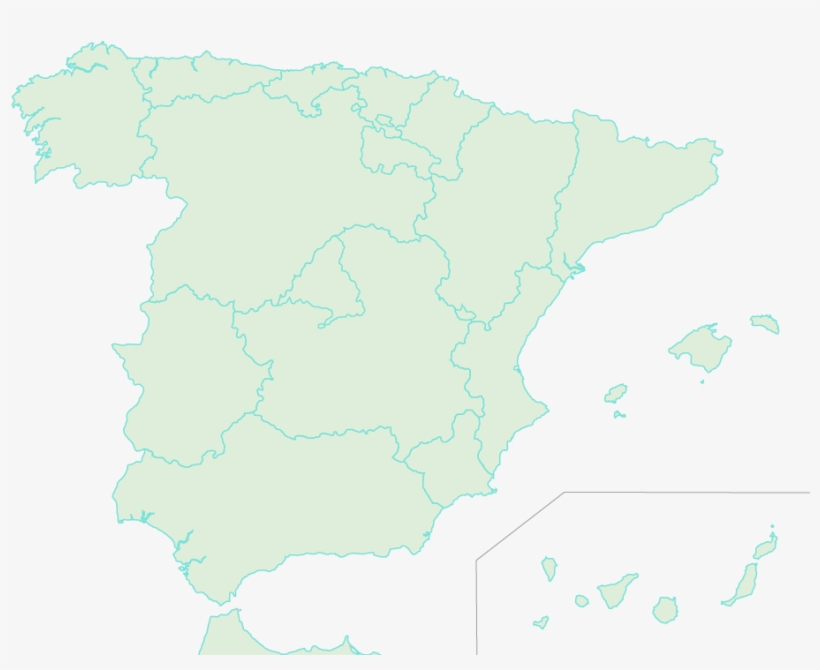 Spain Provinces Map Icon - 914x722 PNG Download - PNGkit