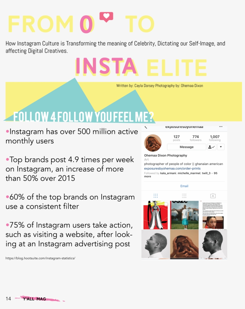 600 followers on instagram on behance Instagram Elite Magazine Project On Behance Portable Network Graphics 2550x3300 Png Download Pngkit