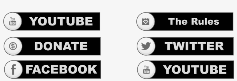 Twitch Buttons Png - Free Twitch Panel Png - 1280x720 PNG