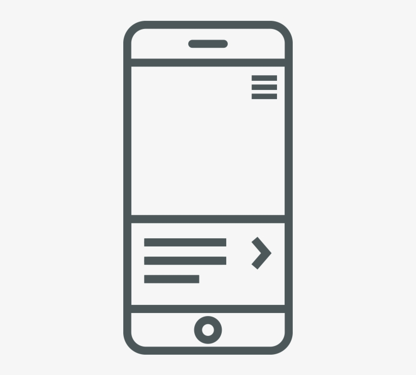 In-app Messaging Icon - App Message Icon - 870x870 PNG