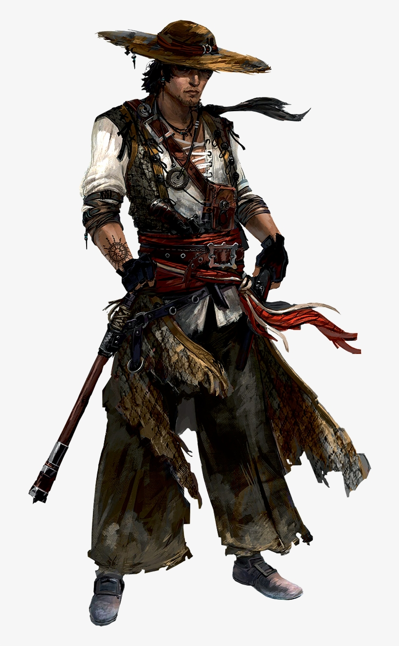 Download Wayfarer Png Download Assassin S Creed Black Flag Character Concept Art Full Size Png Image Pngkit