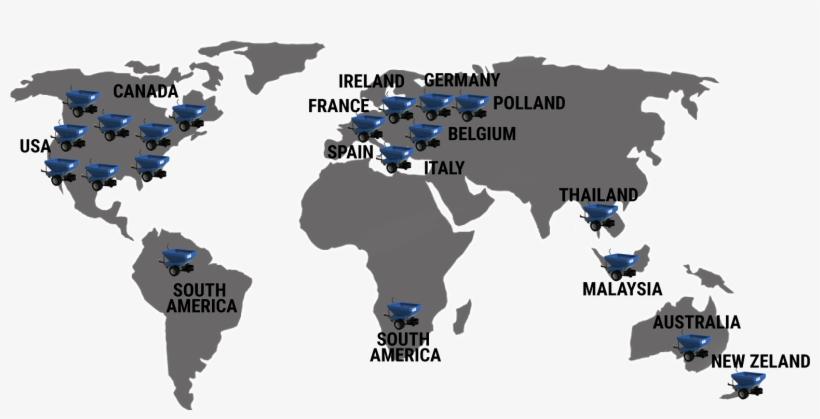 Mapa-mundi - World Map Stencil - 1581x869 PNG Download - PNGkit