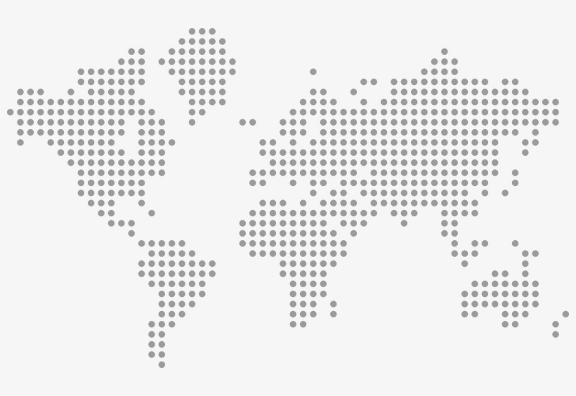 Contacto - World Map Dotted Png - 800x484 PNG Download - PNGkit