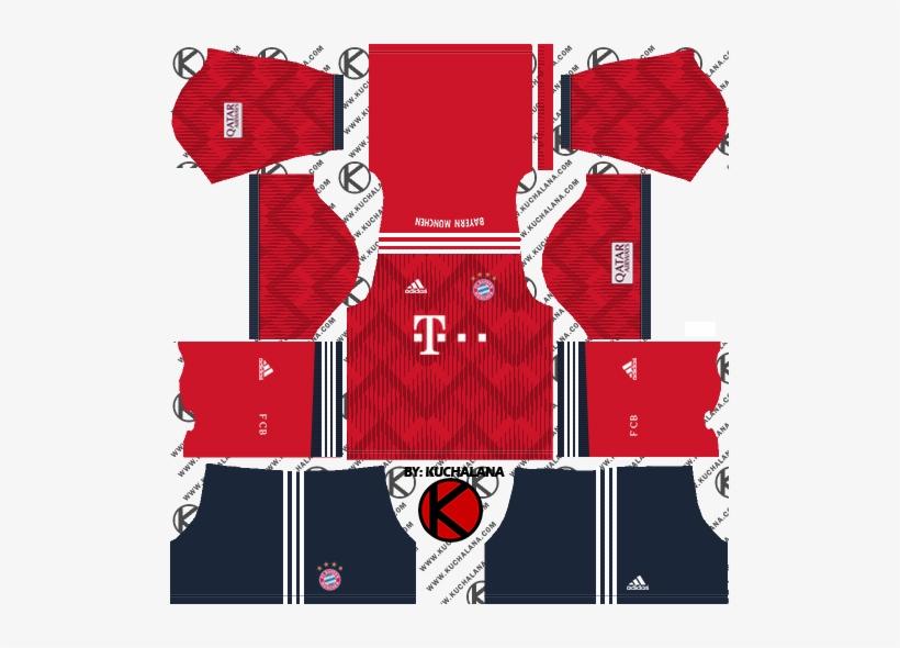premium selection f4bbf 6addc Fc Bayern Munich 2018/19 Kit - Dream League Soccer 2018 ...