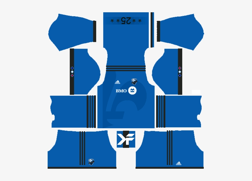 Montreal Impact Home Kit - Kit Do Leicester Dream League