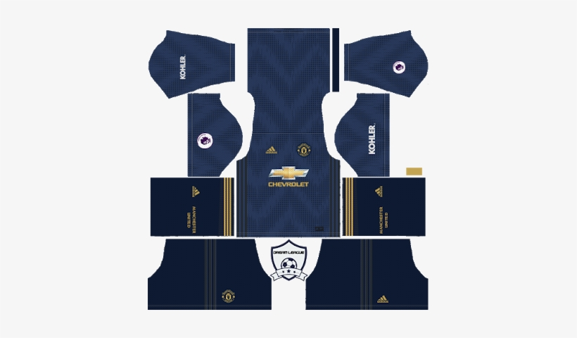 a4368f81da1 Manchester United Third Kit Dls - Dream League Soccer Kits Manchester United  2019