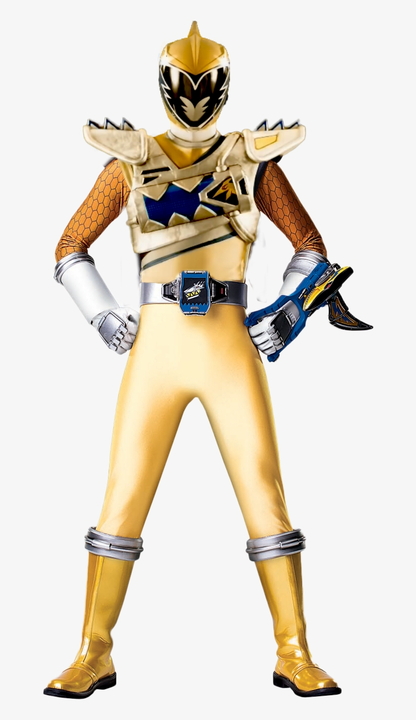 18 Collection Of Power Rangers Dino Charge Gold Ranger   Power ...