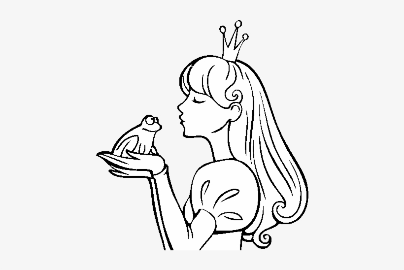 The Princess And The Frog Coloring Page Princesa Y La Rana