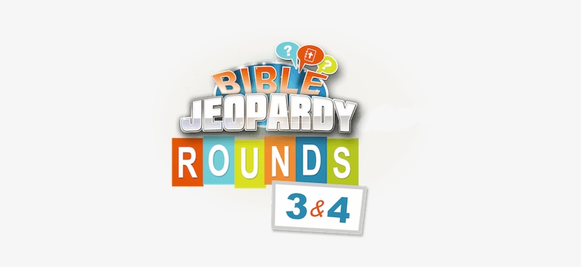 Bible Jeopardy Rounds 3 & - Graphic Design - 450x307 PNG