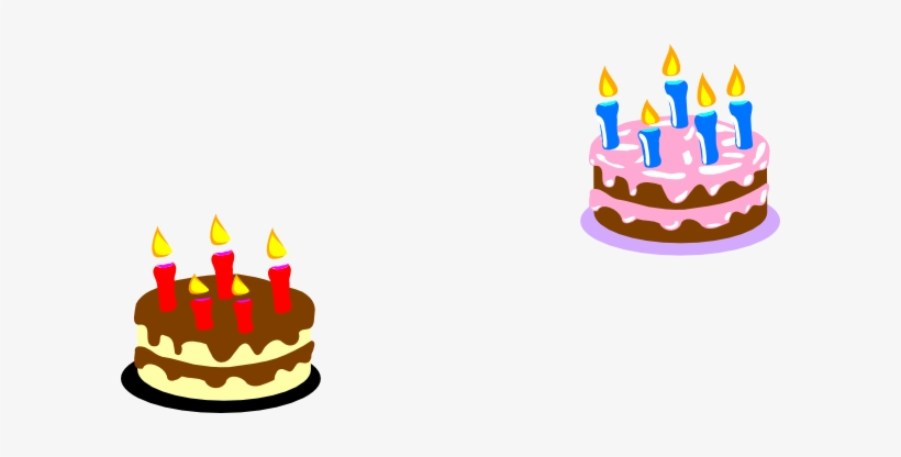 Admirable Small Cakes Clipart Small Birthday Cake Clip Art 600X336 Png Personalised Birthday Cards Cominlily Jamesorg