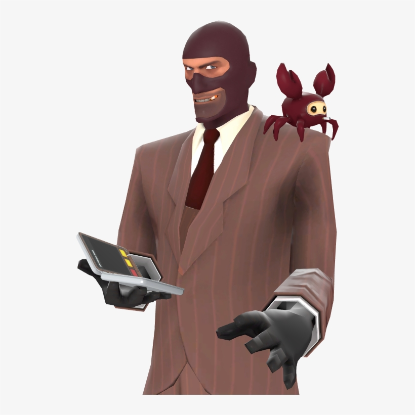 No Team Fortress 2 Spy Crab 520x741 Png Download Pngkit