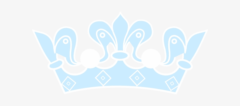 How To Set Use Light Blue Crown Svg Vector 600x282 Png Download Pngkit