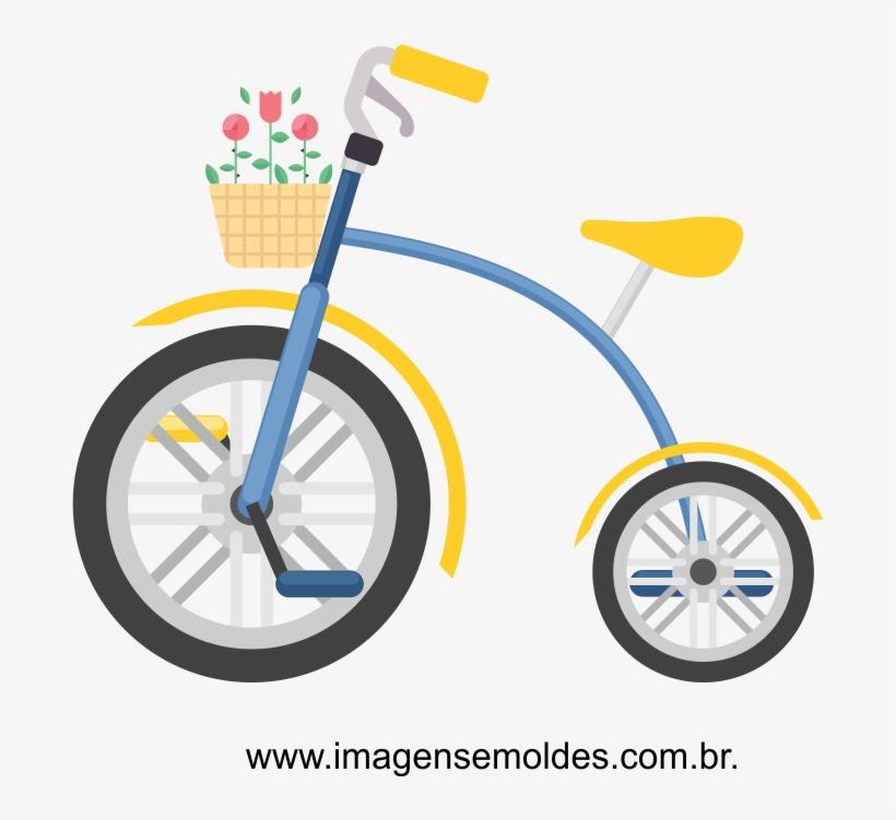 Molde De Bicicleta Para Imprimir 688x671 Png Download Pngkit