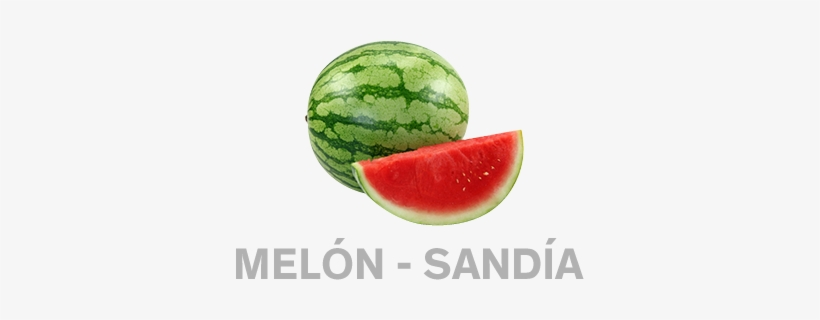 Melonsandia Individual Fruits And Vegetables 427x322 Png