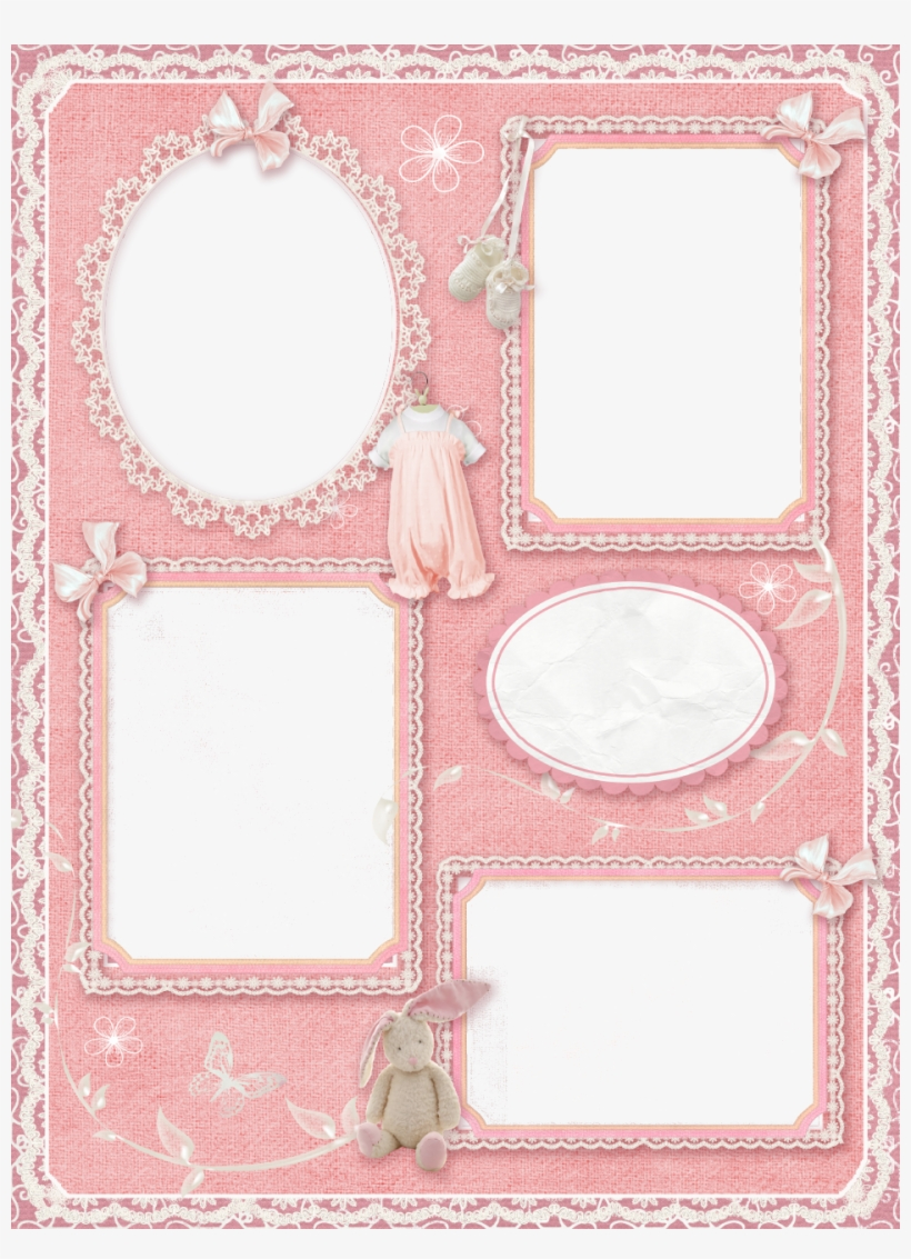 Baby Photo Collage Frames Png