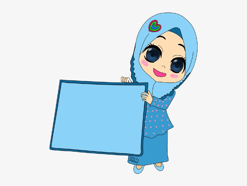 82+ Gambar Kartun Muslimah Warna Putih Gratis Terbaru