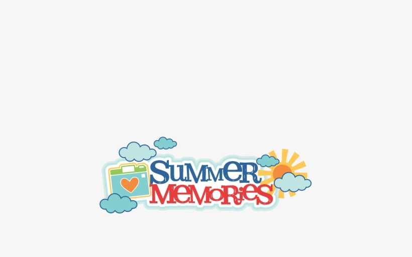 Summer Memories Title Svg Scrapbook Cut File Cute Clipart Summer Memories Clipart 432x432 Png Download Pngkit