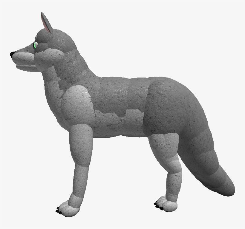 Want To Design Your Own Wolf Draw On Top Of This Wolf Roblox