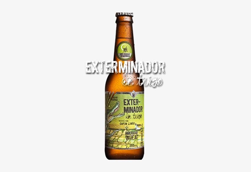 Cerveja Exterminador Logo Cerveja De Capim Limao 320x480 Png