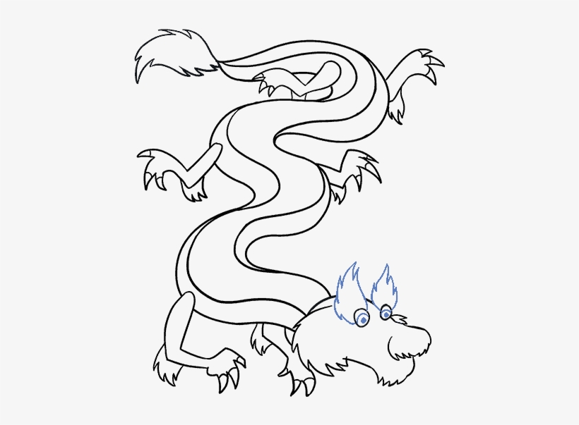 How To Draw Chinese Dragon Drawing 678x600 Png Download Pngkit