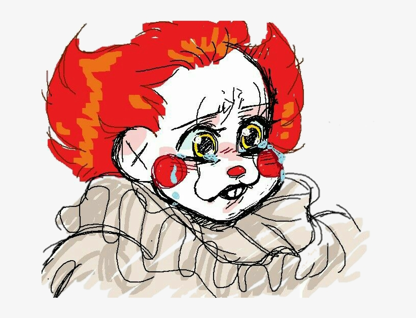 28 Collection Of Pennywise Drawing Cute Pennywise Cute 686x546 Png Download Pngkit