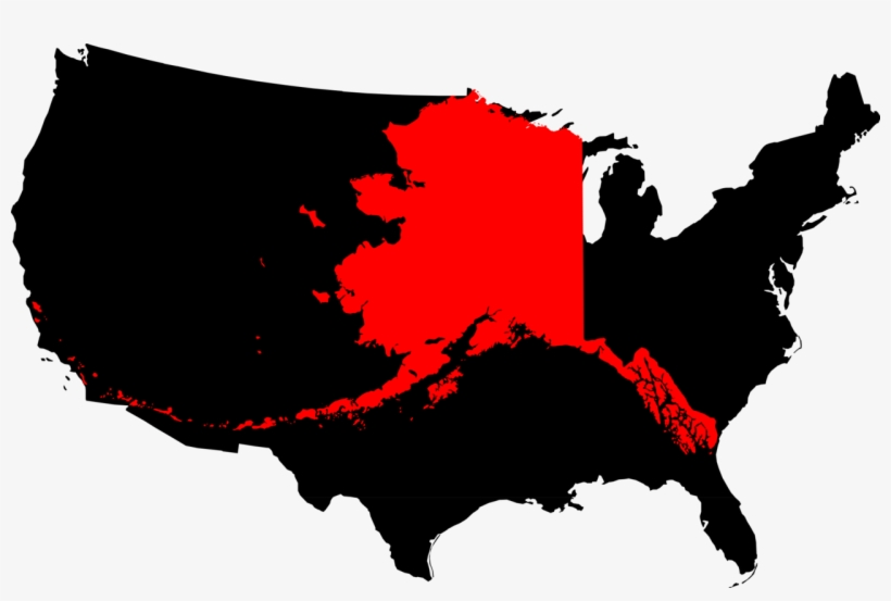 File Clipart Png United States Map - Alaska In United States Map ...