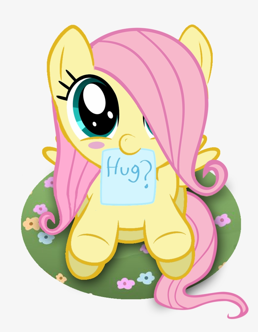 Download Whitecloud72988 Blushing Blush Sticker Bronybait Fluttershy My Little Pony Baby Full Size Png Image Pngkit