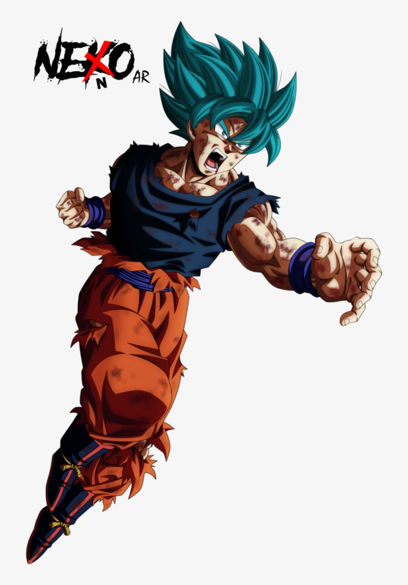 Goku Super Sayajin Blue Dragon Ball Super Nekoar