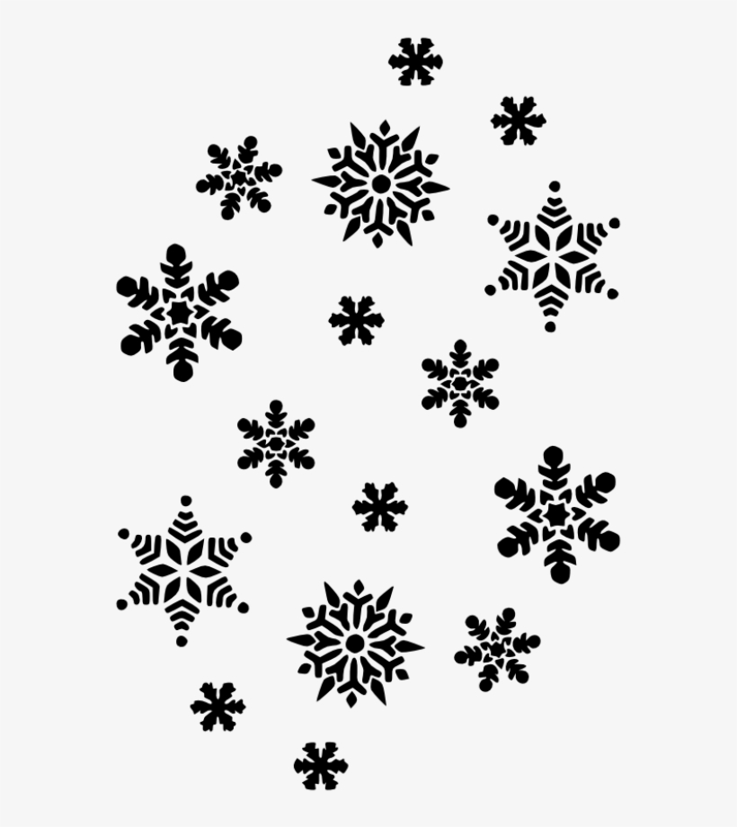 Snowflakes Black And White Snowflake Free Clip Art Draw A Tiny Snowflake 707x1000 Png Download Pngkit