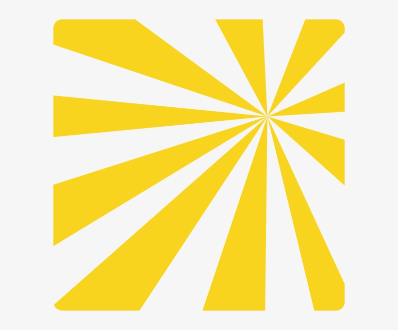 Free Sun Rays Clip Art At Clker Com - Yellow Black Sun Rays