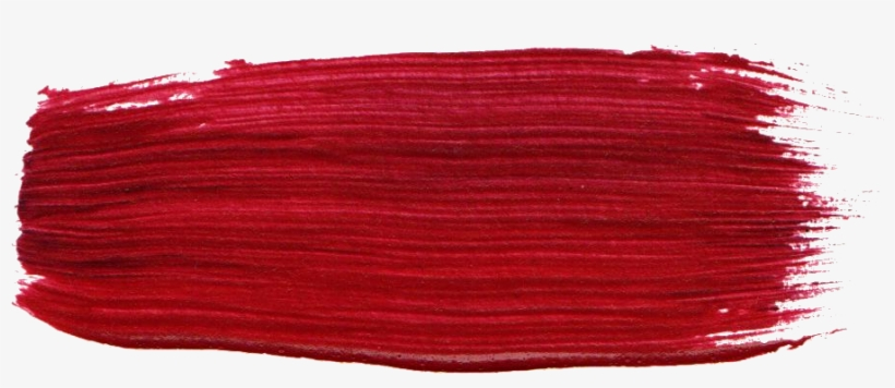 23 Dark Red Paint Brush Stroke Png Transparent Onlygfxcom Red