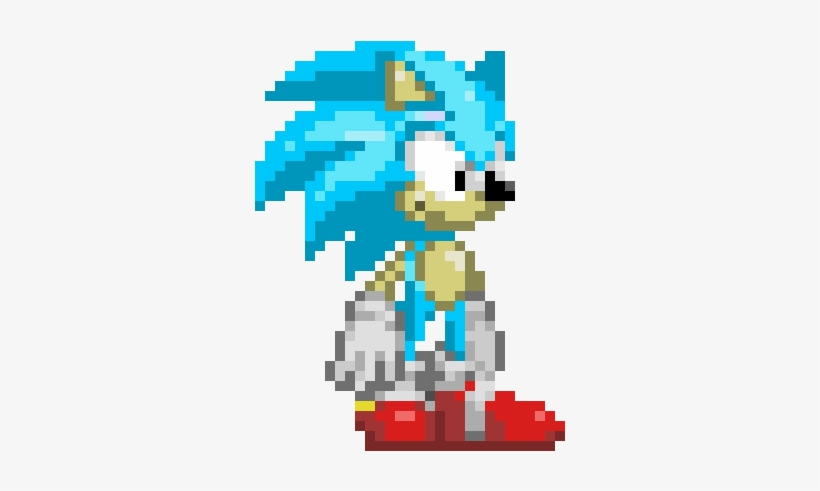 Modern Classic Sonic The Hedgehog Modern Sonic The Hedgehog 360x430 Png Download Pngkit
