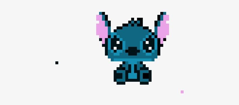 Stich Pixel Art Stitch Drawn 460x380 Png Download Pngkit
